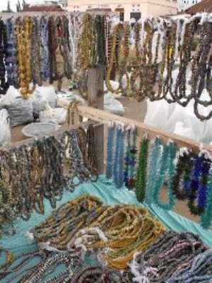 Beads sellers in Koforidua get new market