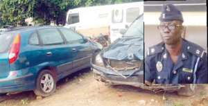 Police To Auction Accident Vehicles