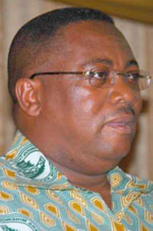 Mr Prince William Ankrah, General Secretary of GWMU