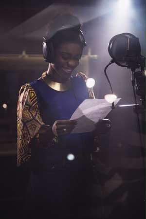 Becca Shares Stage With 16 Other African Artiste In An All-African Song