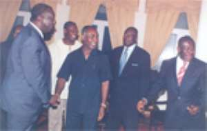 Special Medical Team Visits Kufuor