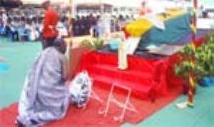 Archbishop Dery Buried