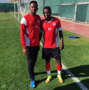 Ghana defender Samuel Inkoom could make Antalyaspor debut on Sunday
