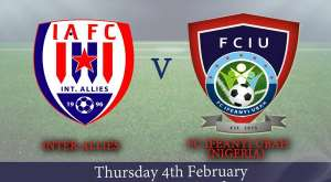 Inter Allies confirm friendly against Nigerian side Ifeanyi Ubah on Thursday