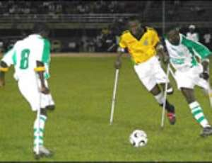 Ghana Amputees qualify for semis in grand style