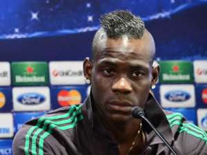 Balotelli pats Black Stars on the back after AFCON defeat