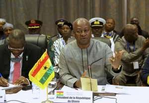 Mahama: Ebola should not collapse affected countries