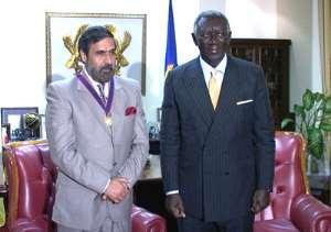 Ghana Honours India Minister