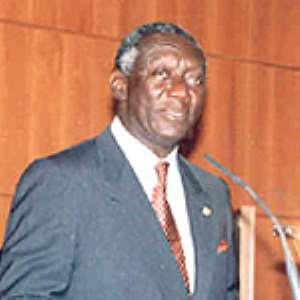 H.E. John Agyekum Kufuor, President of the Republic of Ghana