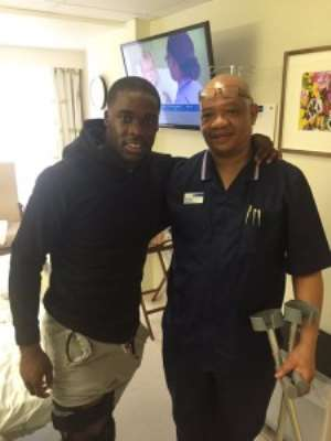 Crocked Ghana defender Jeff Schlupp to return to training by end of February