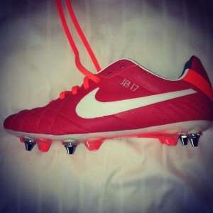 Jerome Boateng : His new shoes!