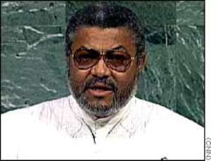 Jerry Rawlings Signed Cocaine Law