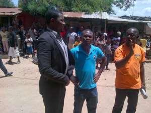 John Dumelo Causes Stir At Budumburam Camp