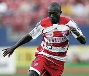 Dominic Oduro's national team call-up fell through due to logistics. (Rick Yeatts/MLS/WireImage.com)