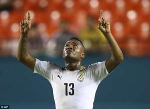 AFCON 2015: Ghana coach Avram Grants strongly defends under-siege striker Jordan Ayew