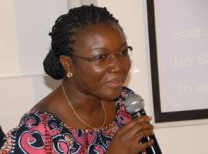 Joyce Bawa Motgari Jubilated Over the Removal of Otiko Afisa Djaba from Gender Ministry