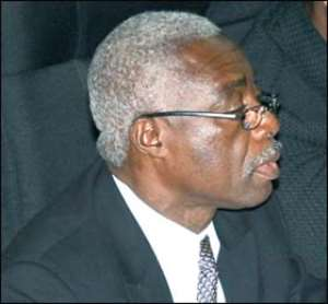 Commission Chairman, Justice Isaac Douse