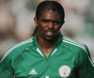 NIGERIA SWEAT OVER KANU FITNESS