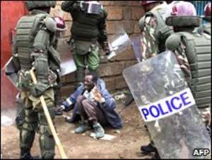 Kenya police 'ran death squads'
