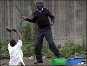 Kenyan police 'ordered to kill'