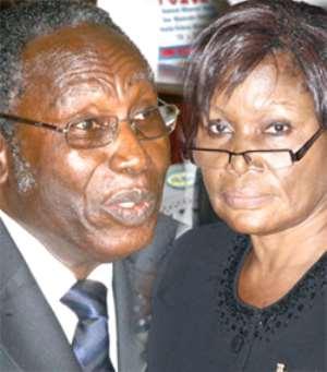 ·Justice Benjamin Aryeetey annd ·Justice Vida Akoto-Bamfo