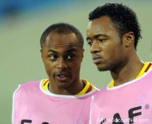 Andre Ayew defends mis-firing brother Jordan; says Lorient striker is Ghana's second best player at AFCON