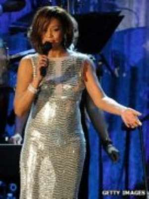 Whitney Houston won six Grammy Awards during her career