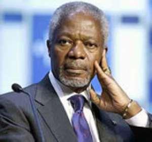 Kofi Annan delivers Golden Jubilee  lecture