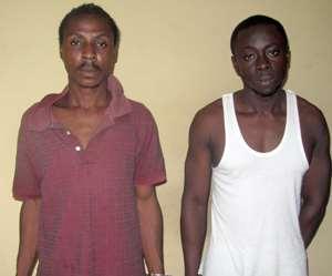 Felix Kito and Osei Nsafuah