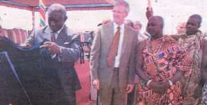 President Inaugurates Cocoa Processing Factory At Tema