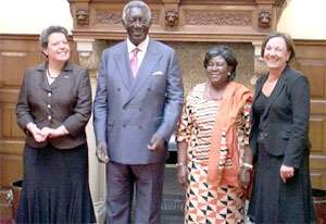 Kufuor Visits The Hague, Netherlands