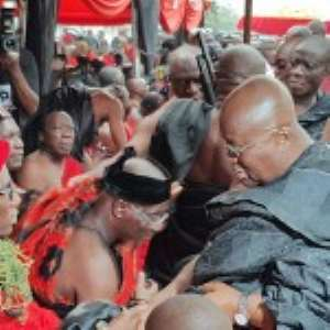 Nana Mourns With Kufuor Over Brother's Death