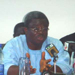 Mr Kwadwo Agyei-Darko, Minister of State at the Presidency