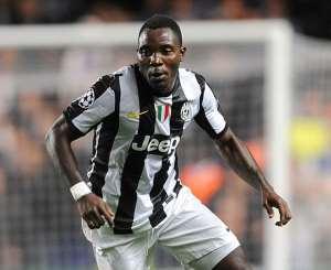 Fortune for Kwadwo Asamoah at Juventus as Patrice Evra suffers injury