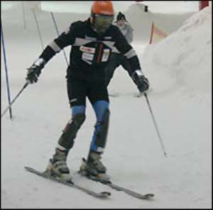Ghana skiers prepare for the cold