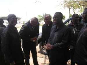 Kwesi Botchwey Meets Atta Mills