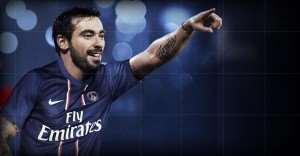 Champions League: Lavezzi  in Weah's mode