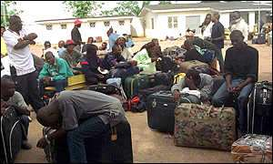 Ghanaian returns from Libya with horrible tales