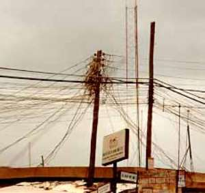 2,000 phone lines destroyed in Kumasi