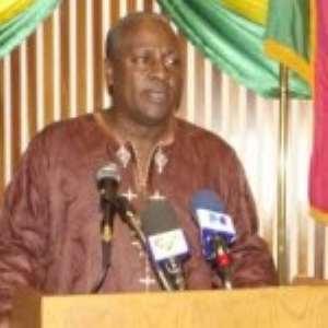Vice President Dramani Mahama