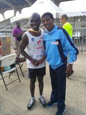 Akoto DerGross (Fat2Fit) Encourages Ghanaians To Be Serious With Sports