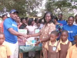 Ashaley Botwe School receives support