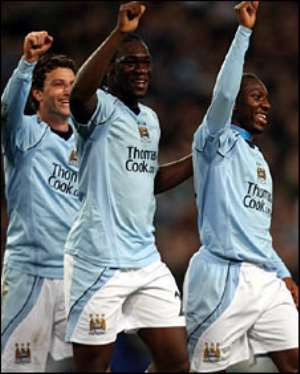 Man City take control of Uefa Cup tie