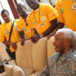 Nelson Mandela hails Black Stars
