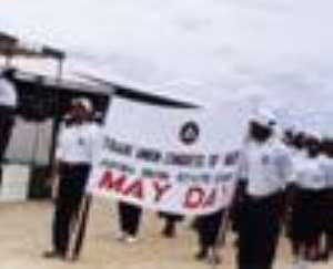 Workers celebrate May Day