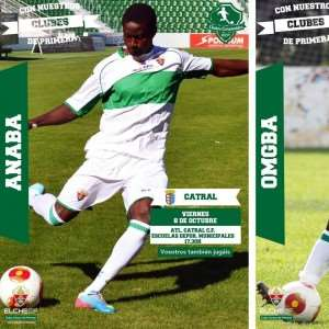 Ex-Ghana youth star Michael Anaba leaves for Elche pre-season with high hopes