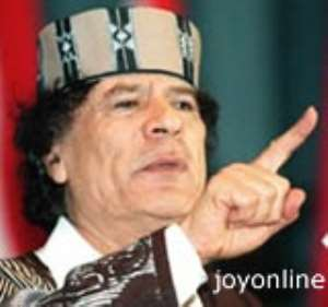 Dismay at AU as Gadhafi is elected chairman