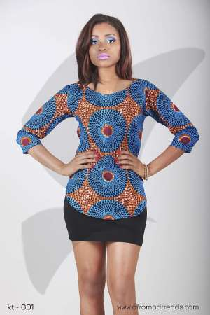 AfroMod Trends Launches 'Nyornu' 2013 Collection