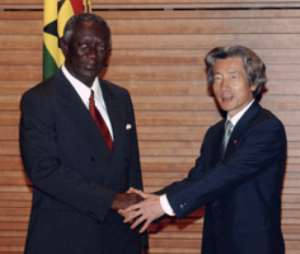 President Kufuor stresses education