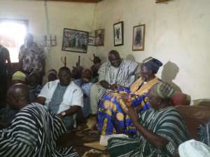 Officials of Ministry of Local Government make official visit to the Northern Region
